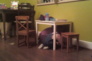 hiding with matheo